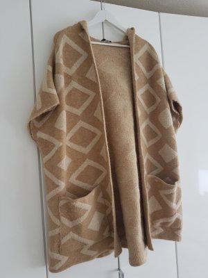 Zara Knit Blazer en laine multicolore
