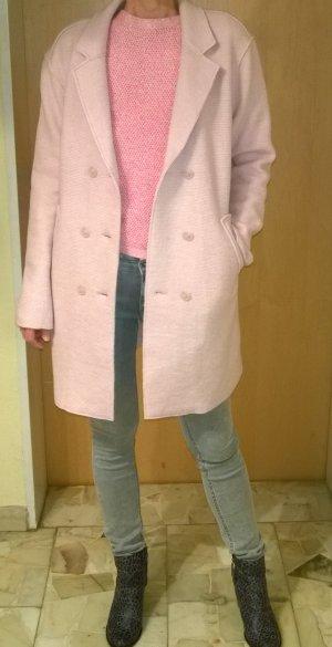 Wollmixmantel rosa