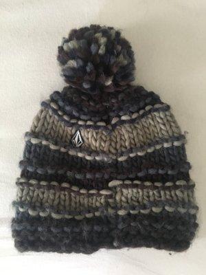 Volcom Chapeau en tricot multicolore