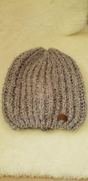 Fila Sombrero de punto gris claro
