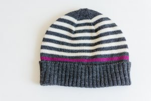 Knitted Hat multicolored