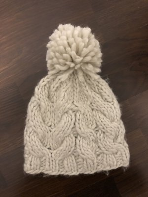Knitted Hat natural white