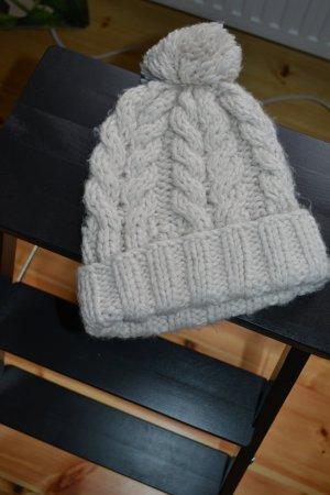 Chapeau en tricot multicolore coton