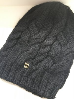 Coccinelle Knitted Hat black