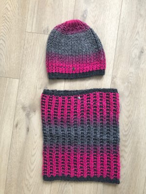 Esprit Knitted Hat grey-pink