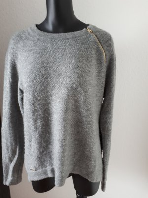 Abercrombie & Fitch Wool Sweater grey