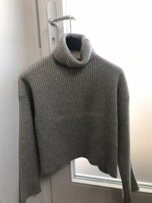 H&M Pull-over à col roulé gris clair