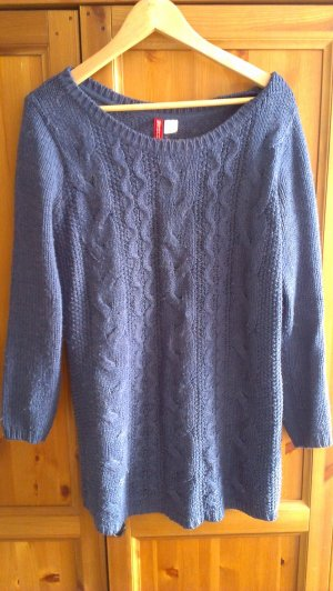 Wollpulli in schönem Blau