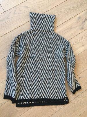 Drykorn Gebreide trui zwart-wit