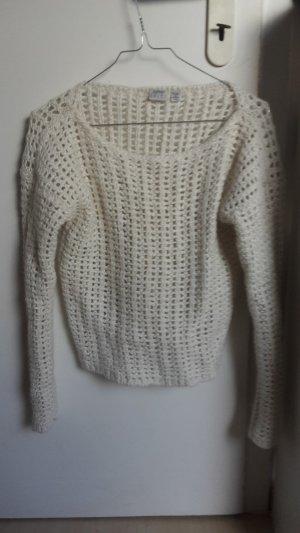 Esprit Maglione di lana bianco