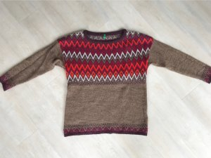 United Colors of Benetton Wool Sweater multicolored