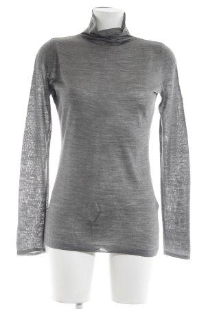 "Jersey de lana ""AKAC ECOU"" gris antracita"