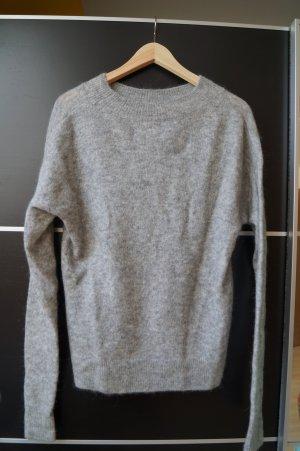 H&M Jersey de lana color plata mohair