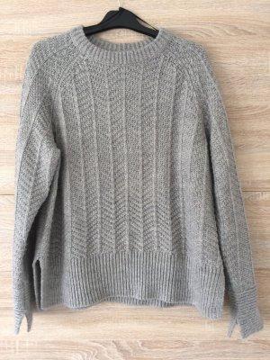 H&M Maglione di lana grigio