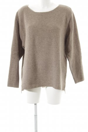 Wollpullover beige Casual-Look