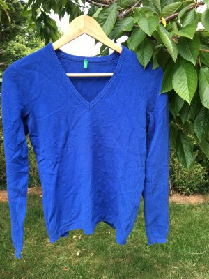 Benetton Wool Sweater blue