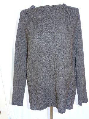 BIBA pariscop Jersey holgados gris oscuro tejido mezclado