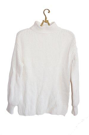 H&M Jersey de lana blanco-blanco puro Lana