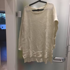 Wollpullover in beige
