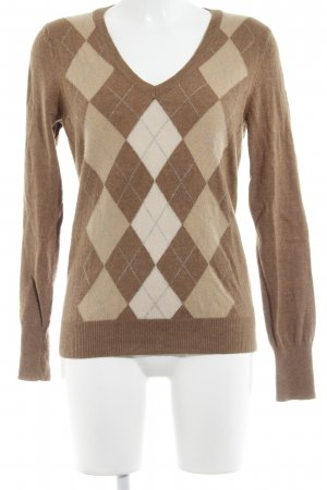 Wollpullover mehrfarbig Casual-Look