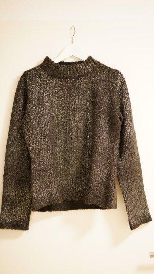 Wollpullover mit Glanzeffekt - Größe 38 - Benetton