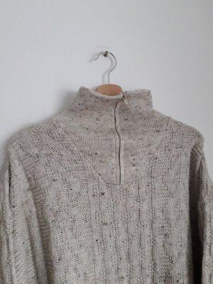 Vintage Maglione oversize beige chiaro