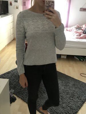 Wollpullover mit Muster