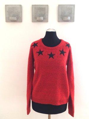 Wollpullover mit Sternen von Maison Scotch