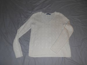 Wollpullover mit Zopfmuster von Ralph Lauren in XL