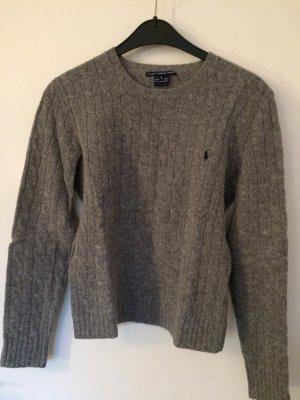 Ralph Lauren Sport Maglione di lana grigio
