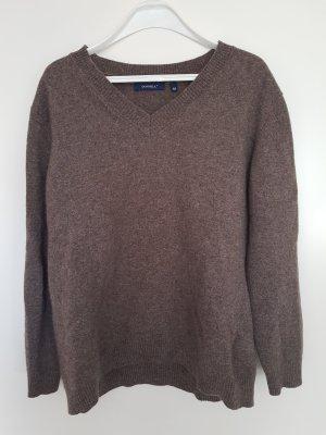 Wollpullover, Softwolle, braun 44/46