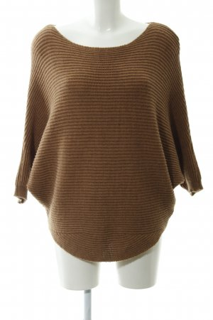 Wollpullover Streifenmuster Casual-Look