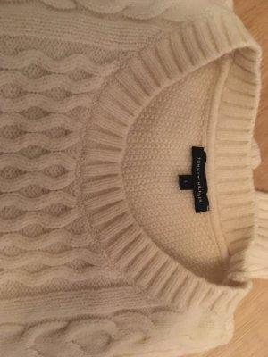 Tommy Hilfiger Pull tricoté crème-blanc cassé