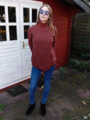 B.young Turtleneck Sweater multicolored