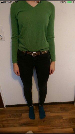 Benetton Maglione di lana verde bosco-verde
