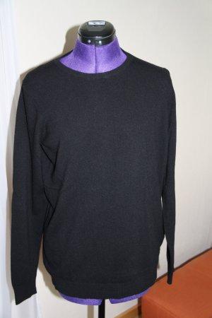 Benetton Maglione di lana nero Lana