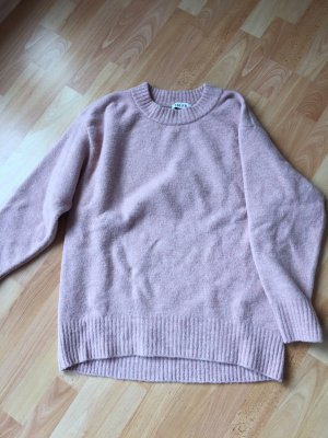 Edited Pull en laine rose clair