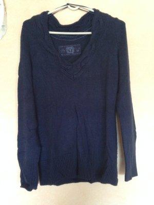 Wollpullover von Esprit blau Gr. M