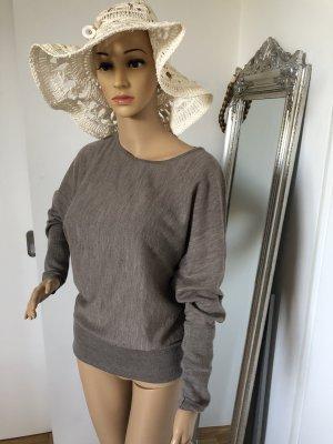 Steffen Schraut Wool Sweater grey brown merino wool