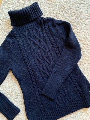 Tommy Hilfiger Wollen trui donkerblauw