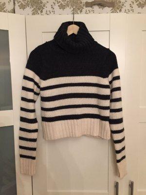 Wollpullover von Zara - Gestreift