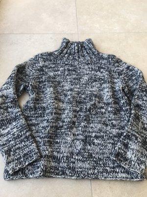 St. emile Jersey de lana negro-blanco puro