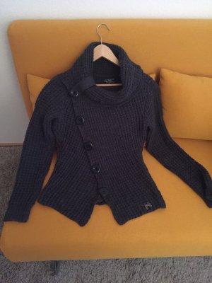 Mogul Jersey de lana gris antracita