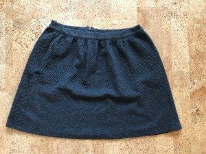 Tom Tailor Denim Knitted Skirt dark grey-anthracite