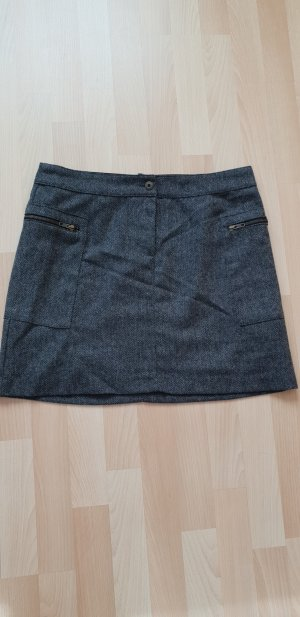 H&M Wool Skirt anthracite