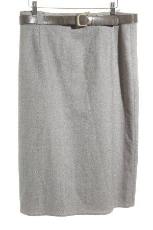 Falda de lana marrón grisáceo-marrón productos vintage