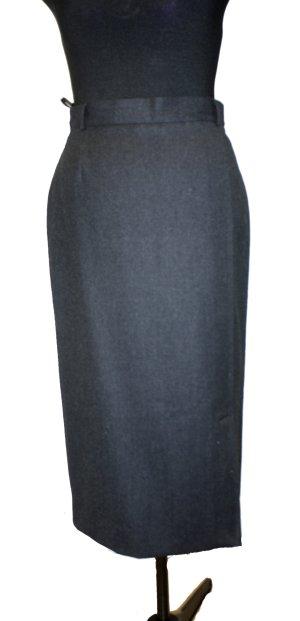 Wool Skirt anthracite