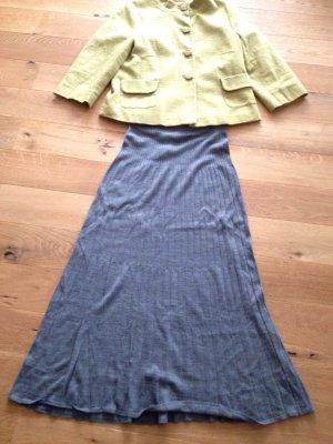 Stefanel Knitted Skirt grey