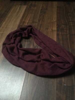 H&M Bufanda de lana rojo zarzamora
