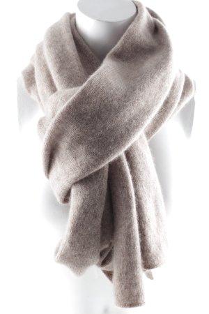 Wollschal beige Casual-Look